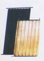copper core of solar absorber for solar collector